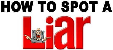 7 Hows To Spot A Liar by Former Cia Officer Will Teach You How To Spot A Lie