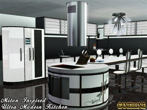 sims 3 modern kitchen canelline s miton inspired ultra modern kitchen