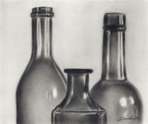 black and white chagne bottle windows to the words art june 2010