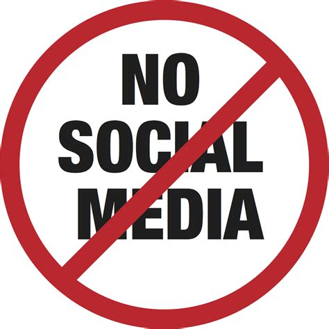 No More In The Media by Walking Away From Social Media Ten Thousand