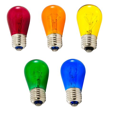 colored light bulbs multi color light bulbs commercial light strand bulbs