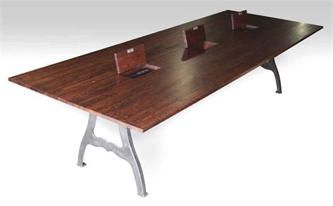 industrial style dining room tables at olde good things