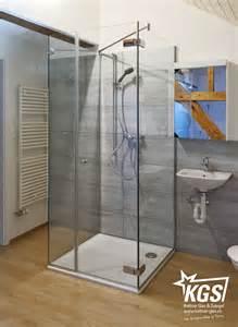 freistehende dusche glas freistehende duschkabine kgs