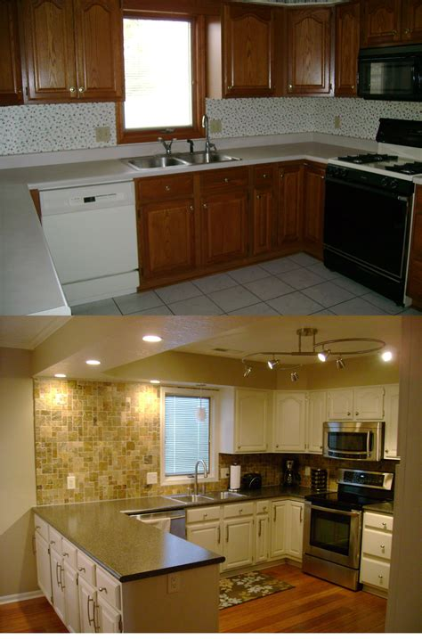 how to redo kitchen cabinets on a budget kitchen remodel on a budget around the house pinterest