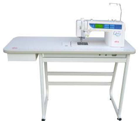 elna 7300 & 7200 sewing table and stand unit extension