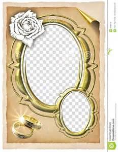 wedding frame royalty free stock image image 5836976