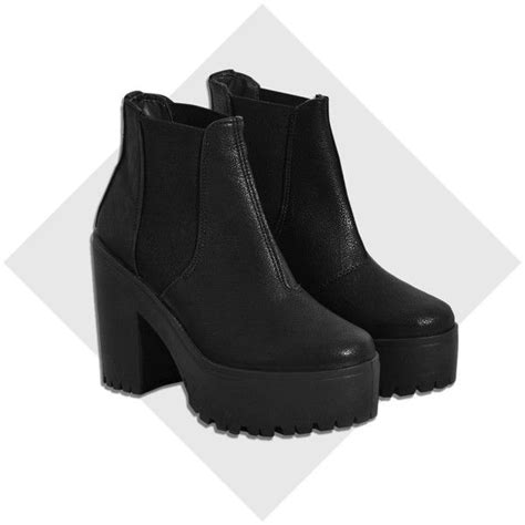 25 best ideas about chunky platform boots on