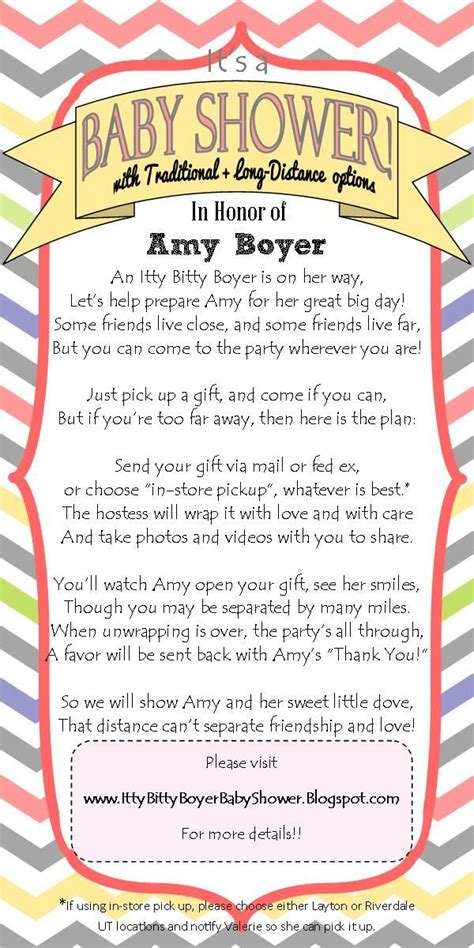 Distance Baby Shower Invitations by Distance Baby Shower Invitation I Wrote This
