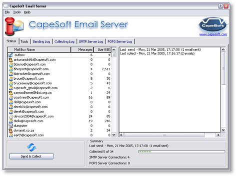 email yahoo server photo archive mail server