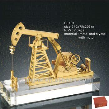 handmade crystal oil rig model gift buy crystal oil rig