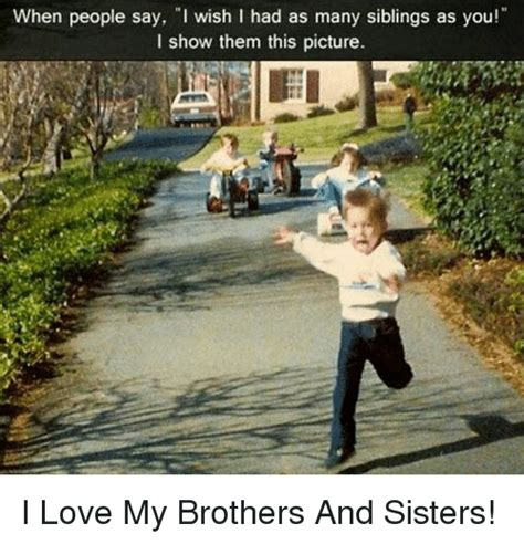 people        siblings