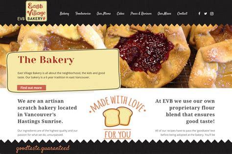 New Website For Search New Website For Bakery Webdesign Portfolio Richli