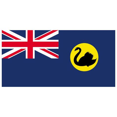 Western Australia Search Western Australia Vector Flag At Vectorportal