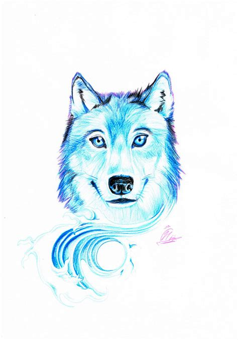 wolf tattoo design by unmei wo hayamete on deviantart