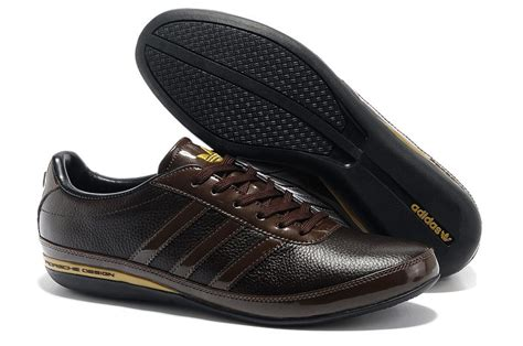 Adidas Casual Browni adidas originals porsche design s3 mens leather casual shoes brown gold