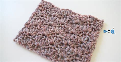 video tutorial how to crochet how to crochet the shell stitch video tutorial b