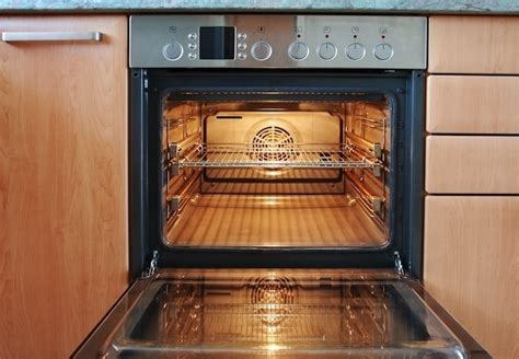 How To Clean A Self Cleaning Oven Glass Door How To Clean Oven Racks Bob Vila