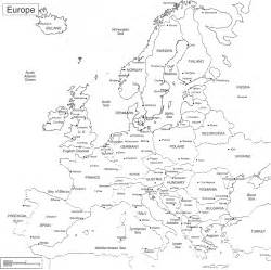 Black And White Map Of Europe by Europe Map 1914 Black And White Printable Europe Map