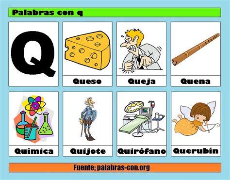 imagenes que empiezan con la letra k palabras con la letra q q ejemplos de palabras con q