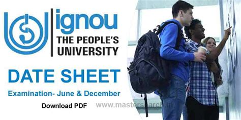 Ignou Mba Date Sheet by Ignou Date Sheet June 2018 Ignou Time