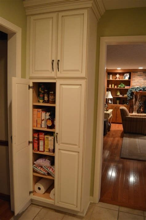 Kitchen Pantry Cabinet Installation Guide Theydesign Net How To Design A Kitchen Pantry