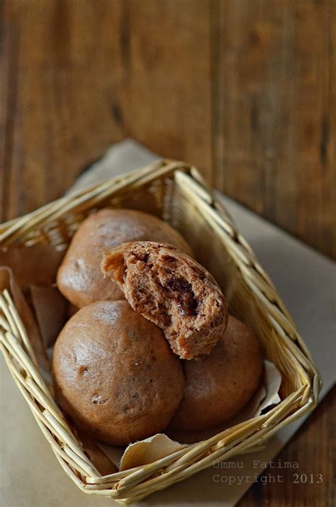 simply cooking and baking bakpao coklat isi coklat