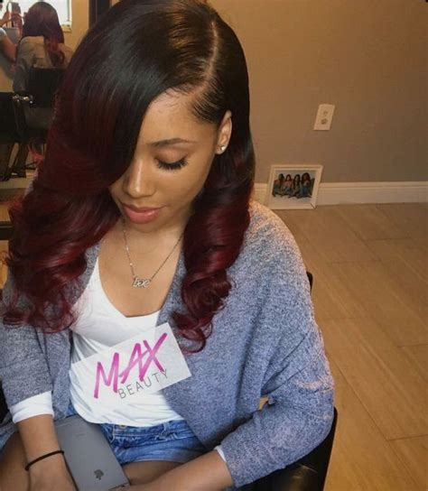 cute short sew ins 1022 best sew in hairstyles images on pinterest curls