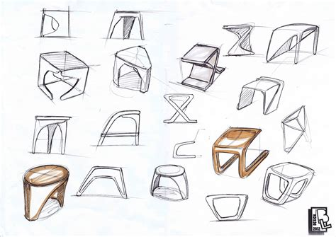 4 Thumbnail Sketches by Barry Lor Conceptual Design Thumbnail Sketches
