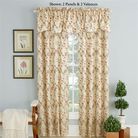 cream embroidered curtains wisteria embroidered floral cream window treatment