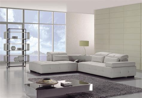 apartment couch white leather l shaped couch bed for modern minimalist