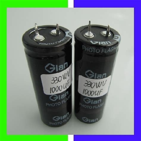 discharging flash capacitor 330v 1000uf photo flash capacitor in shenzhen guangdong china glan technology co ltd