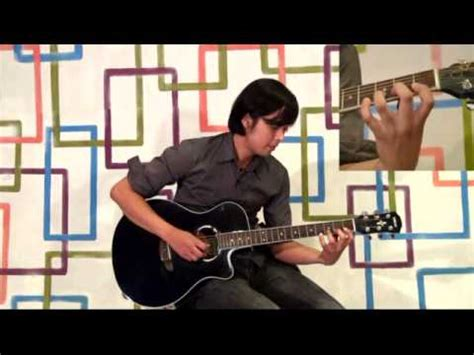 tutorial gitar kangen sempurna andra the backbone acoustic guitar cover