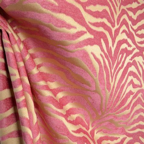 animal print upholstery fabric by the yard serengeti hot pink animal print chenille upholstery fabric