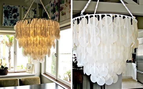 How To Make A Paper Chandelier For - diy chandeliers that will light up your day