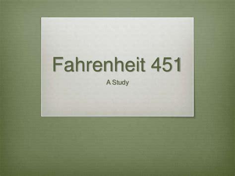 fahrenheit 451 section 1 fahrenheit 451 part 3