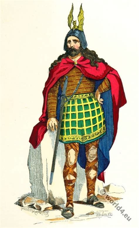 Autentic Gaul the gallic and gallo costume period costume history
