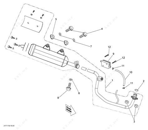 Bombardier 2014 Ds 90 Mini Exhaust System Parts Catalog