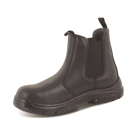 chelsea work boots for click footwear safety chelsea dealer work boots black cf16