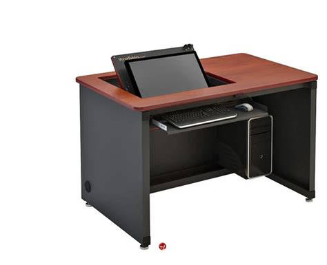 36 Computer Desk The Office Leader Sperco Split Level 36 Quot Steel Computer Desk Table