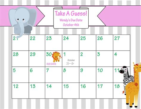 baby pool calendar template baby pool template doliquid