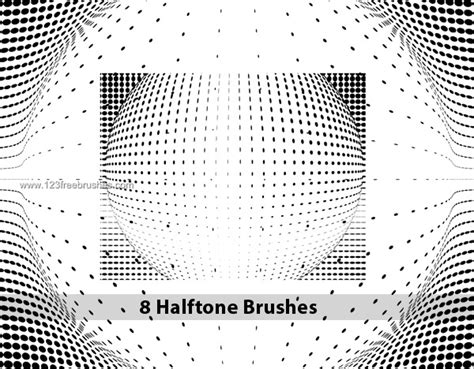 download halftone pattern photoshop high resolution halftone dot brushes photoshop free