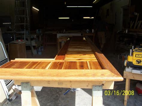Cedar Bar Top by Pictures For Christopher S Cabinets Woodworking Llc In