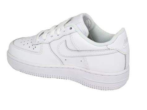 Nike Kid White nike air 1 white trainers for landau store