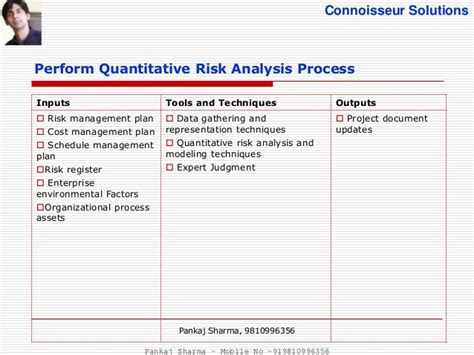 What Us Mba In Quantitative Analysis by Project Risk Management Pmbok5
