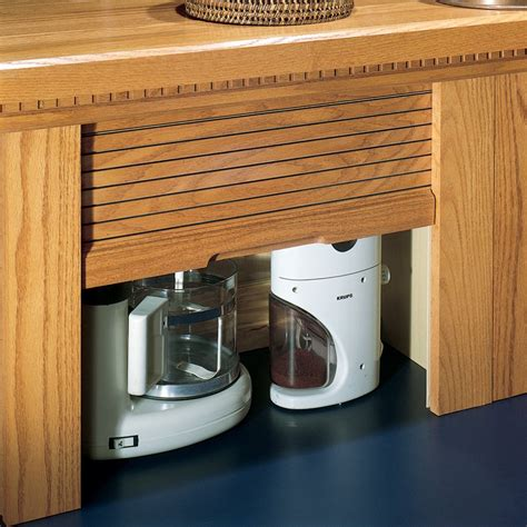 Appliance Garage Kit by Omega National Products 24 Quot Corner Appliance Garage