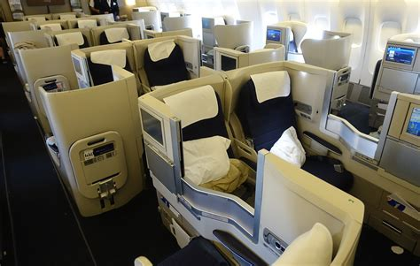 airways business class seats pictures flight review airways 777 200 to new york