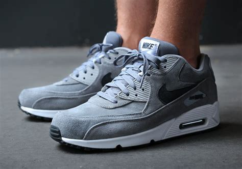 Nike Airmax 90 Suede nike air max 90 essential quot grey suede quot sneakernews