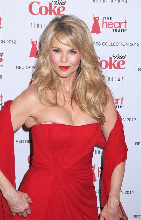 Dress Cristie christie brinkley wavy cut christie brinkley hair