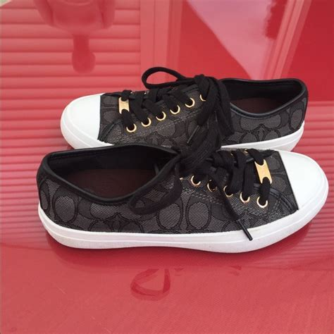 coach new york shoes 55 shoes coach new york black sneakers size 6 from