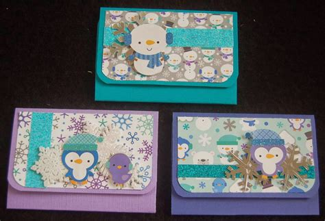 doodlebug vf s craft doodlebug frosty friends gift card